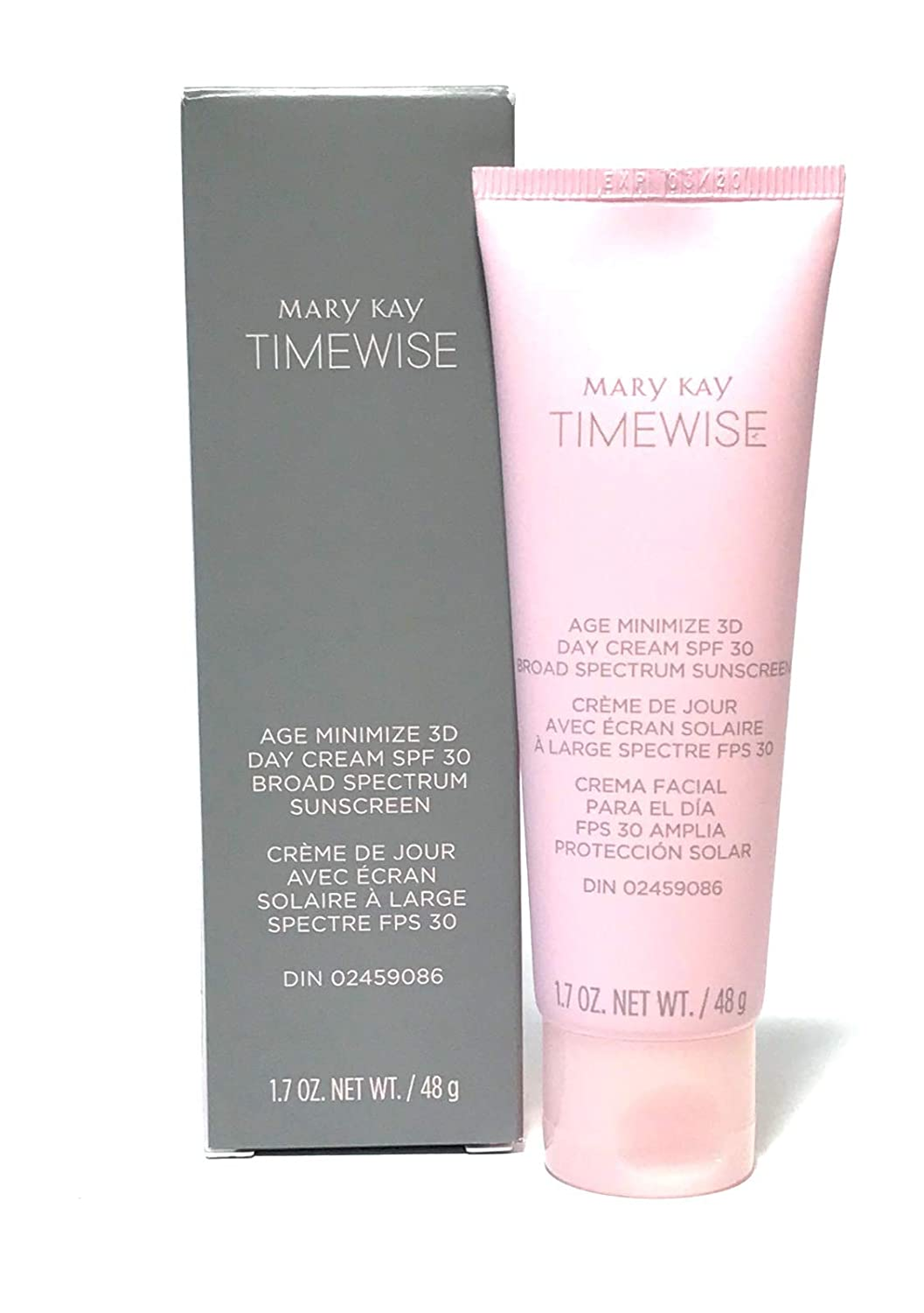 Mary Kay TimeWise Age Minimize 3D Day Cream (Non-SPF) 1.7 oz / 48g - Combination Oily Skin