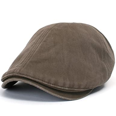 ililily New Men s Cotton washing Flat Cap Cabbie Hat Gatsby Ivy Caps Irish  Hunting Hats Newsboy aa8eb682786b