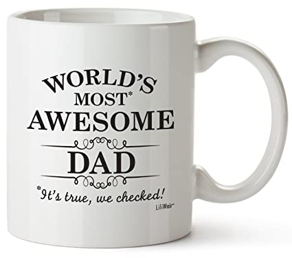 Dad Gifts Fathers Day Funny For Daddy Best Ever Birthday Coffee Mugs Cups