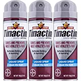 Product review for Tinactin Athletes Foot Liquid Spray 5.3 oz (Pack of 3)