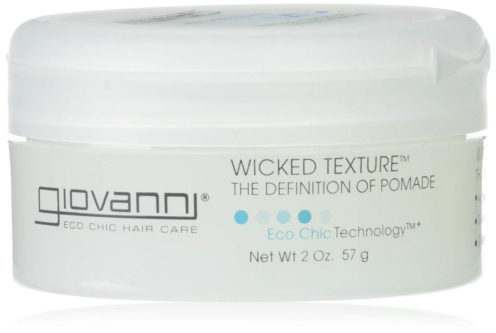 Giovanni Styling Glue Custom Hair Modeler 2 Oz 3 Pack Pomade Oilbased Medium Hold 55gr Non Label Eco Chic Wicked Texture The Definition Of Texturizer