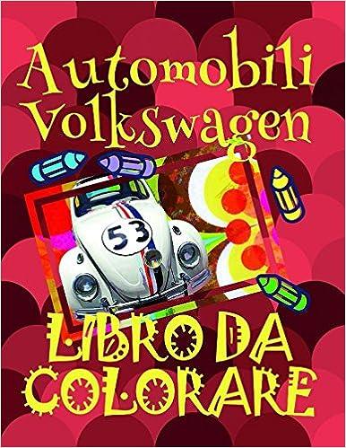 Libro Da Colorare Automobili Volkswagen Disegni Da Colorare