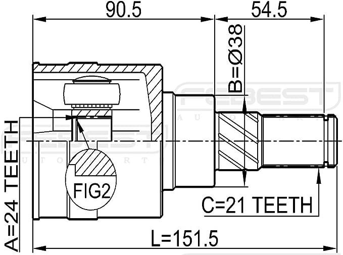 CITROEN XSARA Arbres de Transmission Cv Joint ABS Anneau Reluctor Anneau 29 Windows NEUF