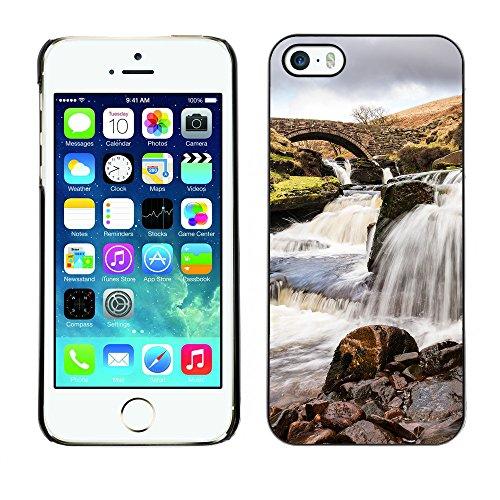 Premio Sottile Slim Cassa Custodia Case Cover Shell // F00031741 canal Pierre // Apple iPhone 5 5S 5G