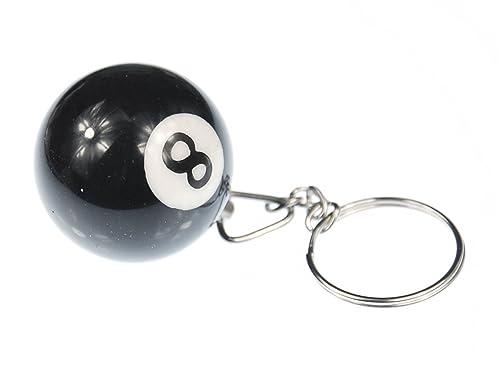 Miniblings llaveros Billar Bola de Billar Conjunto de Claves ...