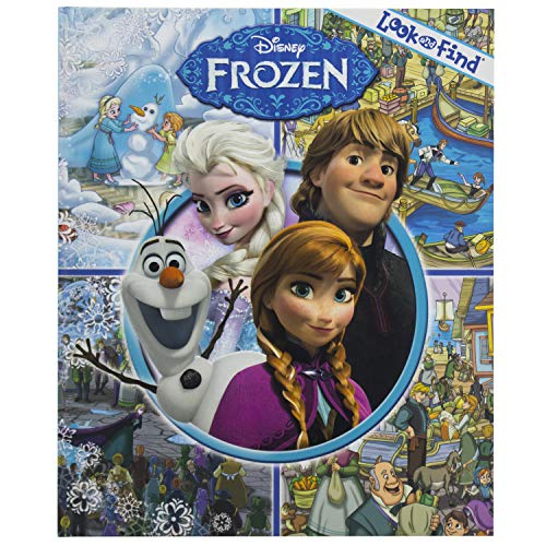 Disney - Frozen Look and Find Activity Book- PI Kids