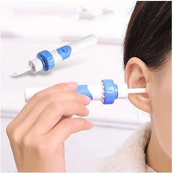 Aspirador eléctrico Limpiador de oídos Cera de oídos Removedor ...