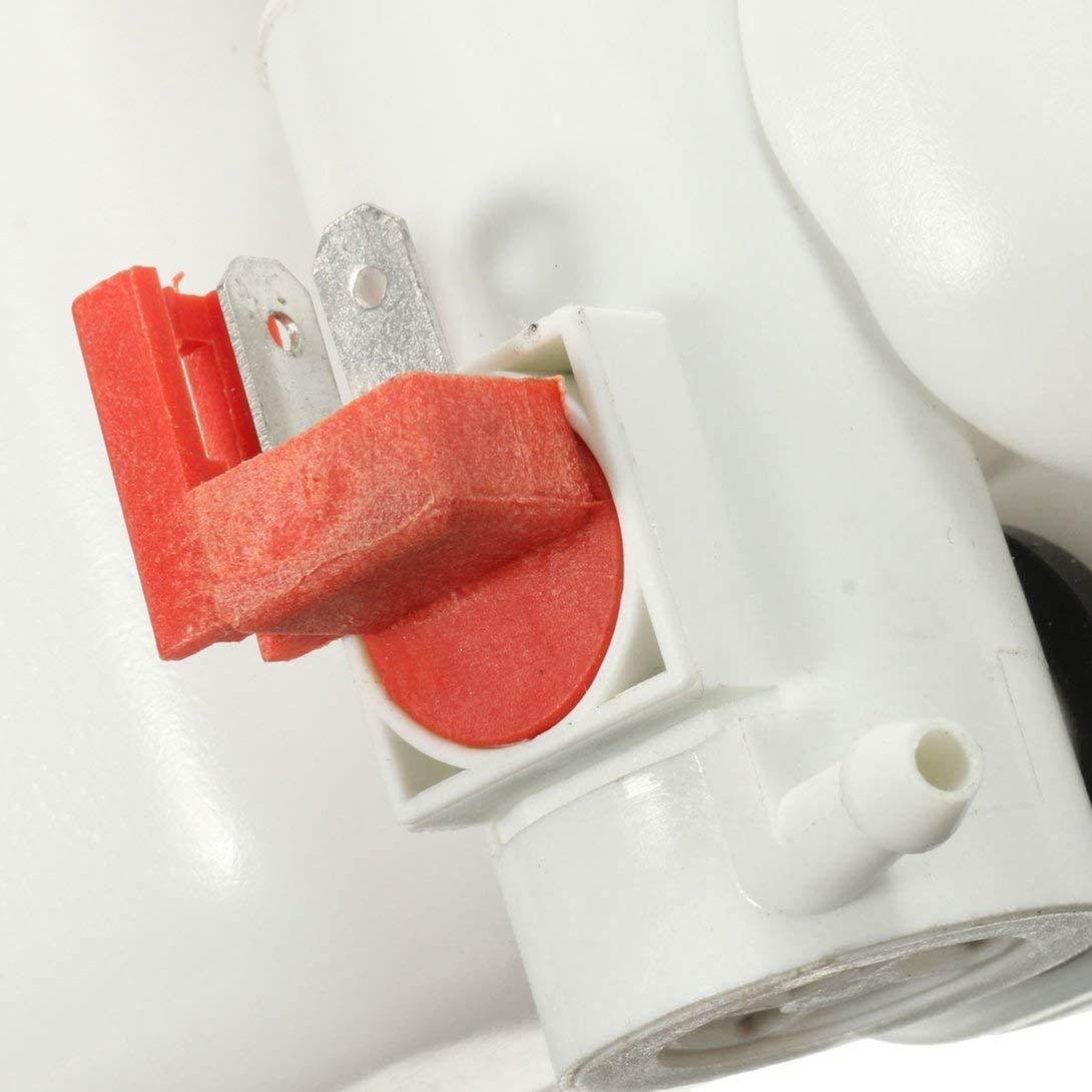 Swiftswan 12V Universal Classic Car Scheibenwaschanlage Vorratsbeh/ä lter Pumpe Flasche Kit Jet Schalter Clean Tool Einfach und bequem zu bedienen