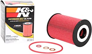 K&N Premium Oil Filter: Designed to Protect your Engine: Fits Select 2006-2020 PORSCHE/BMW (911, Cayenne, Macan, Panamera, Carrera, GT3, Turbo, M5, M6), HP-7032
