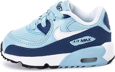 Nike Air Max 90 Mesh Bébé Bleue Bleu 26: