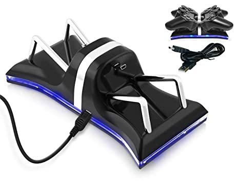 Amazon.com: Zettaguard PS3 - Base de carga USB para mando de ...