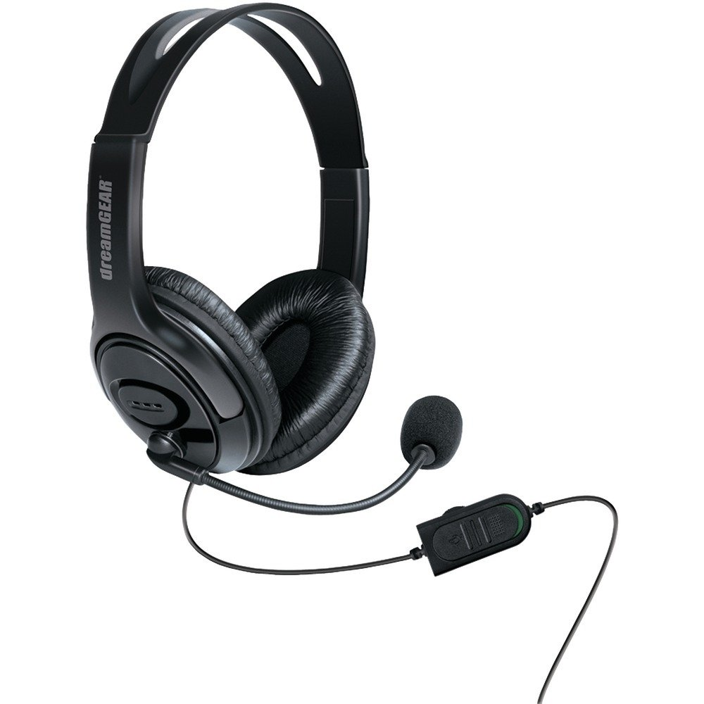 Amazon.com: DREAMGEAR DGXB1-6617 Xbox One(TM) Wired Headset with ...