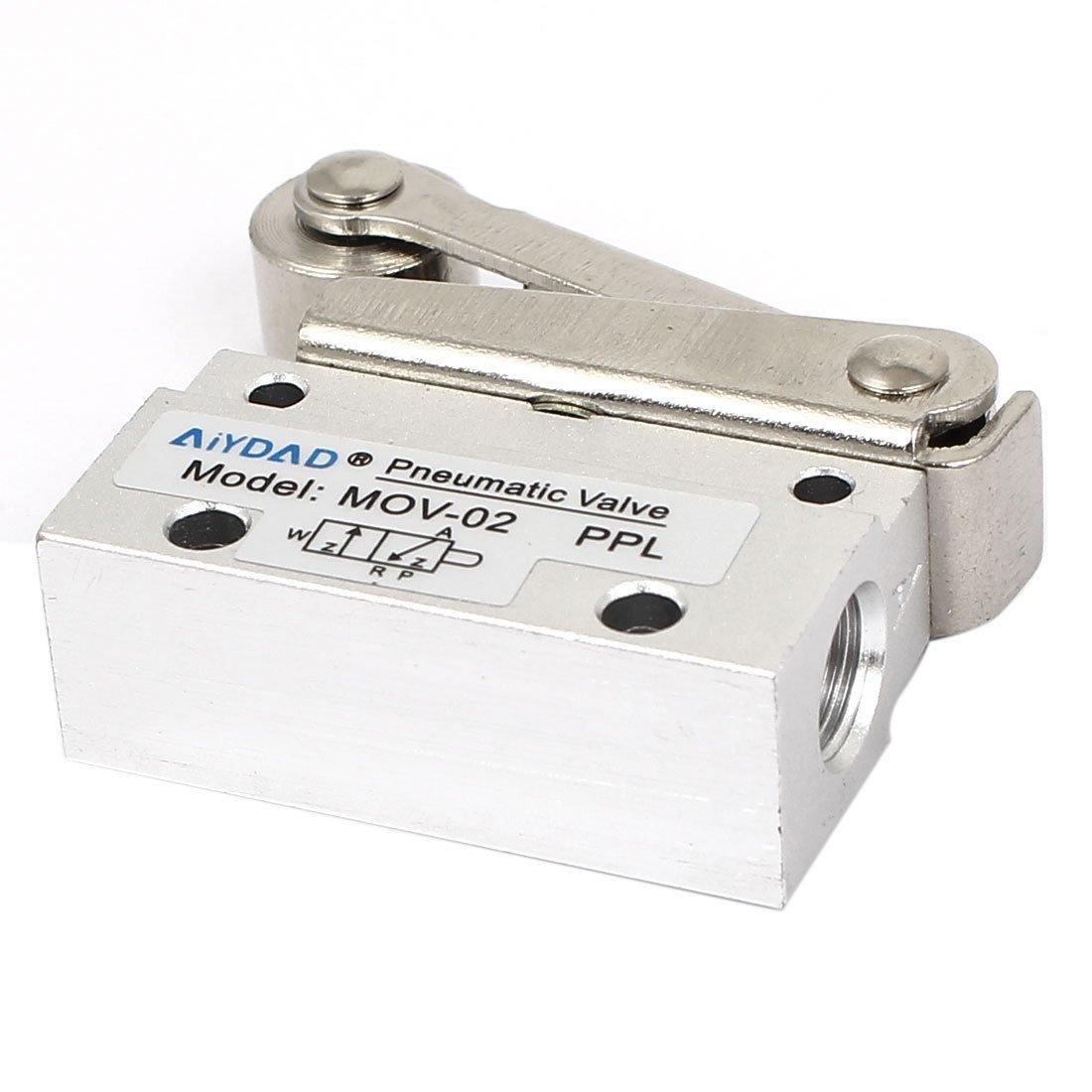 DealMux PT 1/8 Messer Thread 2-Wege-Rad-Schalter Pneumatik ...