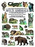 Old-Fashioned Wild Animals Stickers, Carol Belanger Grafton, 0486403890