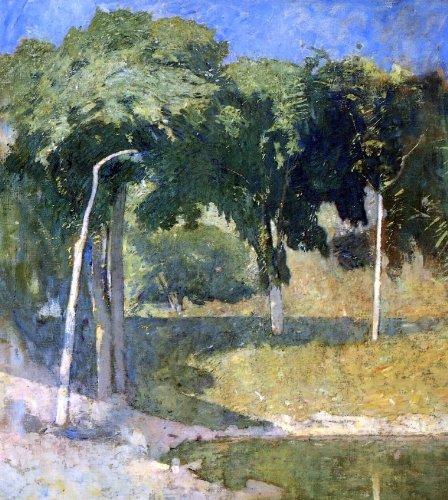 Emil Carlsen Lakeside Landscape - 20.1