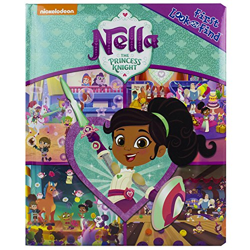 Nickelodeon - Nella the Princess Knight First Look and Find - PI Kids -