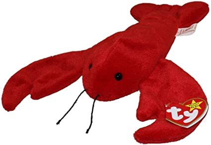 PINCHERS the Lobster TY Beanie Buddy