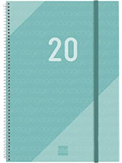 Finocam - Agenda 2020 semana vista vertical Espiral Year ...