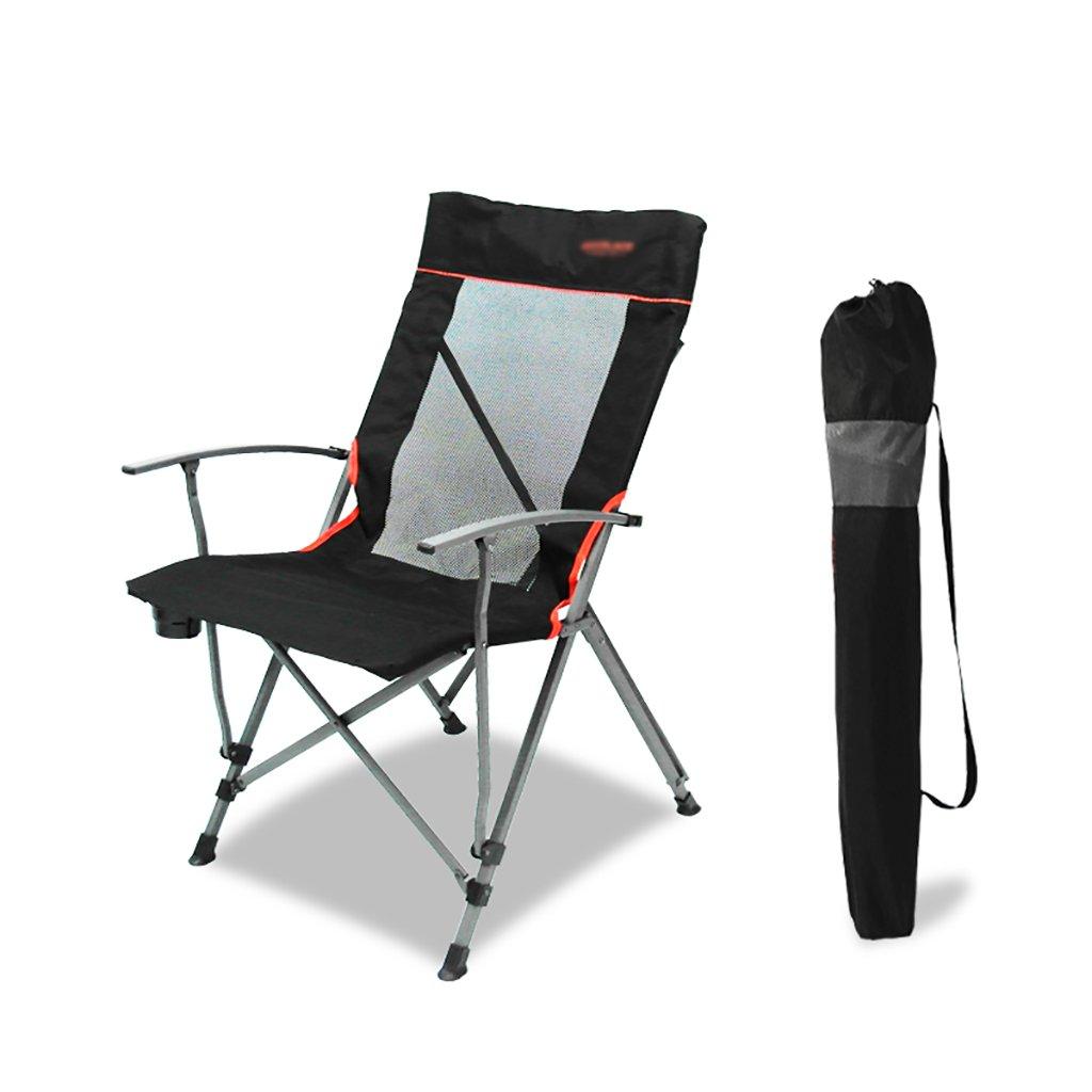 キャンプ椅子アウトドア椅子折りたたみ椅子、釣りレジャー、通気性ソリッドポータブルビーチ椅子、   B07CKZWC6R