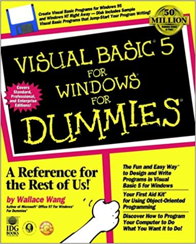 Visual Basic? 5 For Windows? For Dummies? (SERIAL): 0785555501225