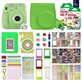 Fujifilm Instax Mini 9 Instant Camera With with 40 Sheets of Instant Film, Custom Mini 9 Case with Strap, Photo Album, Assorted Frames , 6 Color Filters And More Best Value Bundle