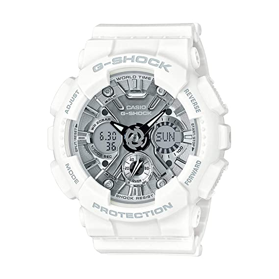 6c7d45240e8b0 Buy Casio G-Shock S-Series Analog-Digital Silver Dial Women s Watch - GMA-S120MF-7A1DR  (G733) Online at Low Prices in India - Amazon.in