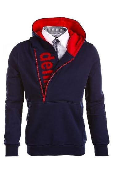 MT Styles Kapuzenpullover mit Zipper Pullover S 112