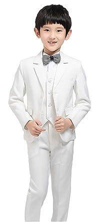 9fb63fb3c9ee6 (ラボーグ) La Vogue 子供服 キッズ フォーマルスーツ ジャケット ベスト ズボン ネクタイ サスペンダー 5