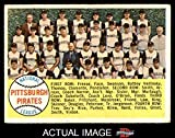 1958 Topps # 341 Pirates Team Checklist Pittsburgh Pirates (Baseball Card) Dean's Cards 1 - POOR