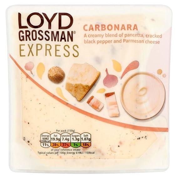 Loyd Grossman Para Una Salsa De Pasta Carbonara (150g)