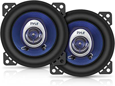 Pyle PL42BL 4-Inch 180-Watt Two-Way Speakers (Pair)