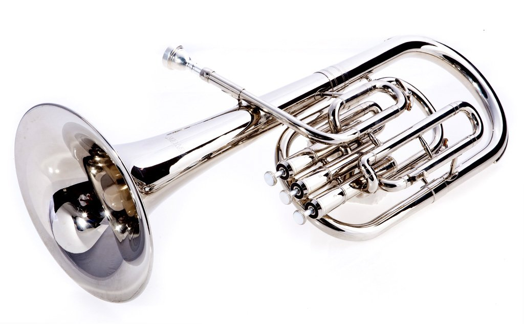 Fever Deluxe Alto Horn Silver Plated, 2411-1-N by Fever (Image #2)