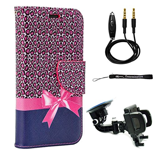 car accessories pink cheetah - 1