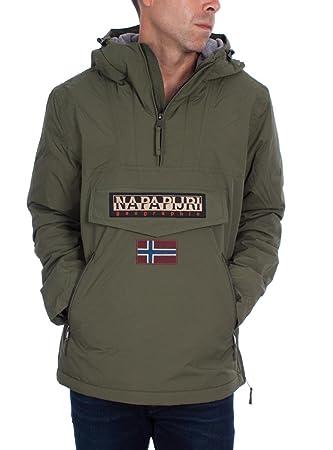 """Napapijri - Chaqueta """"Rainforest"""" para hombre, de invierno, con bolsillo,"""
