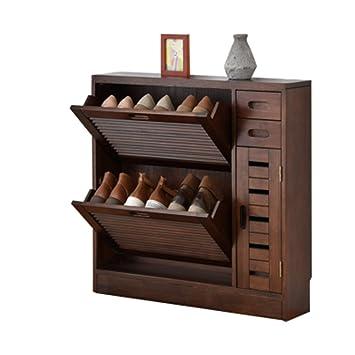 ymxljf porte chaussures de rangement en bois massif simple moderne armoire dentre armoire