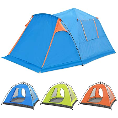 Skylink Family Instant Tourer Tent for 4 Person Campimg Hiking Tent