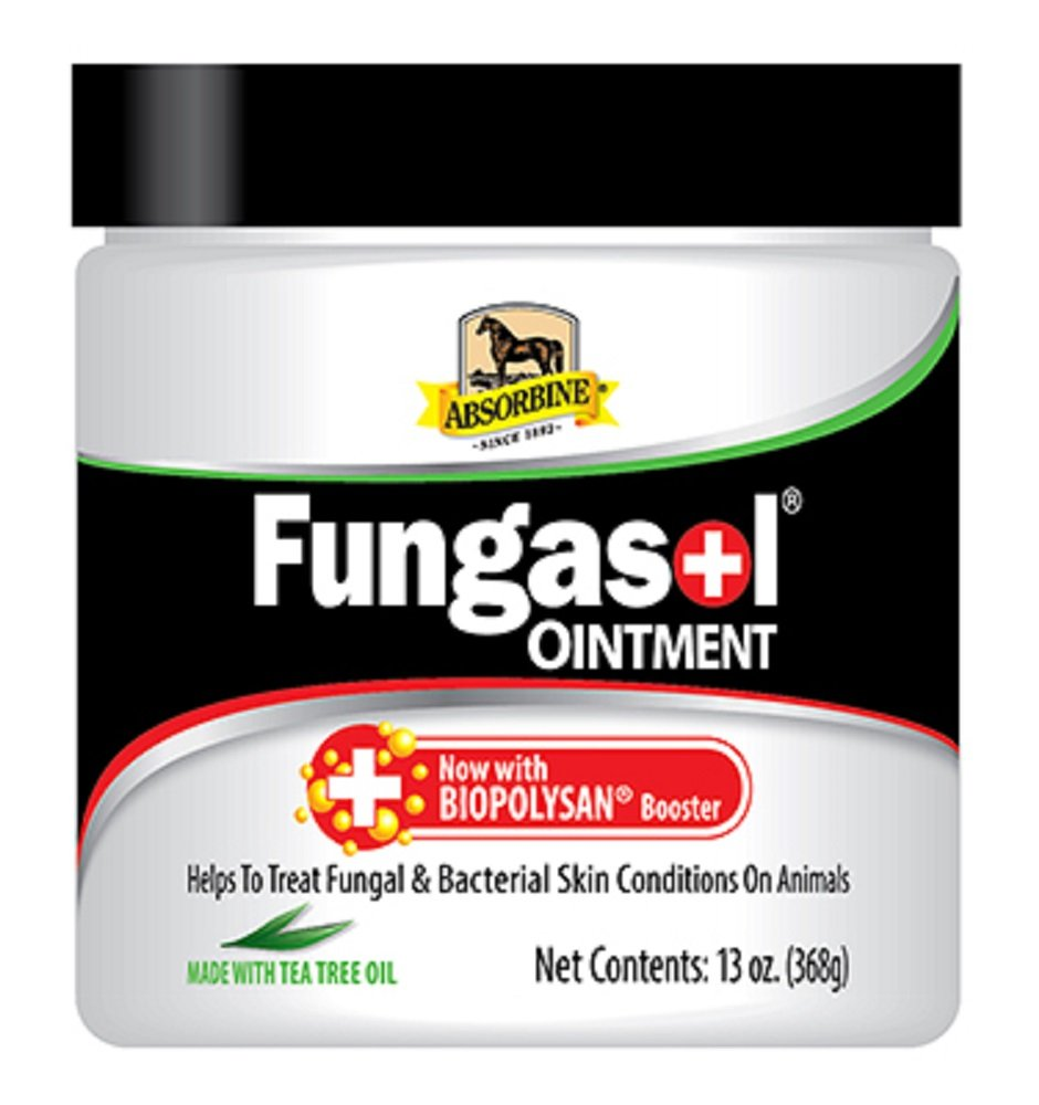 Absorbine 13 Oz Fungasol OINTMENT Helps Treat Fungal and Bacterial Skin Conditions on Animals