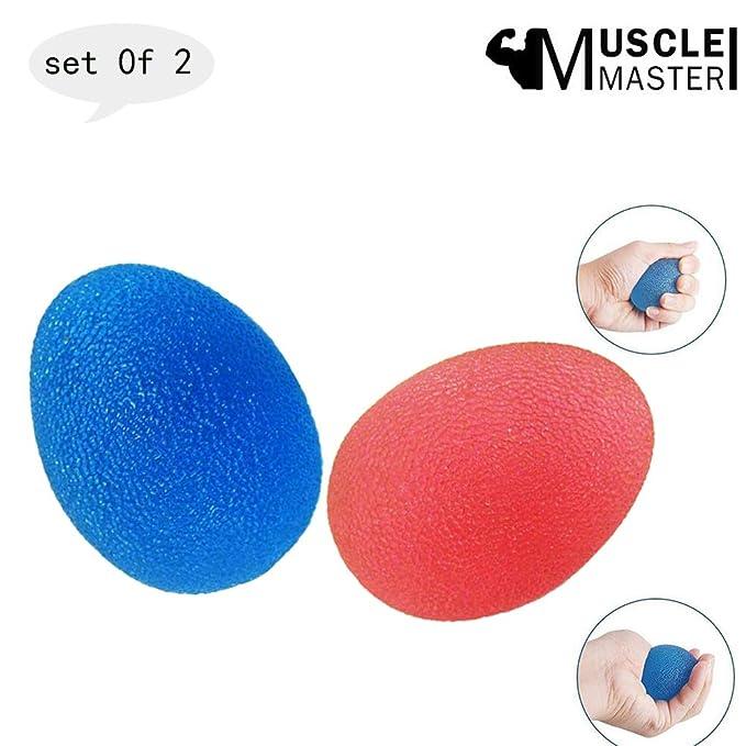 Muscle.Master 2 Unidades de Bola antiestrés para aliviar el estrés ...