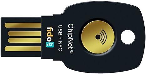 ChipNet FIDO2 + FIDO U2F - Llave de Seguridad para Verificación en 2 Pasos - USB + NFC y JavaCard. Empresa Española .Soporte Posventa con Asistencia Personal.: Amazon.es: Informática