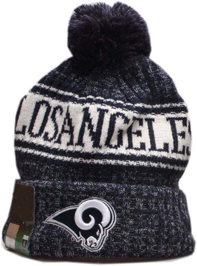 Michaell 2020 New Fans Beanie hat Women Sideline Sport Knit hat Men Winter hat with Pom Knit Hat Cap