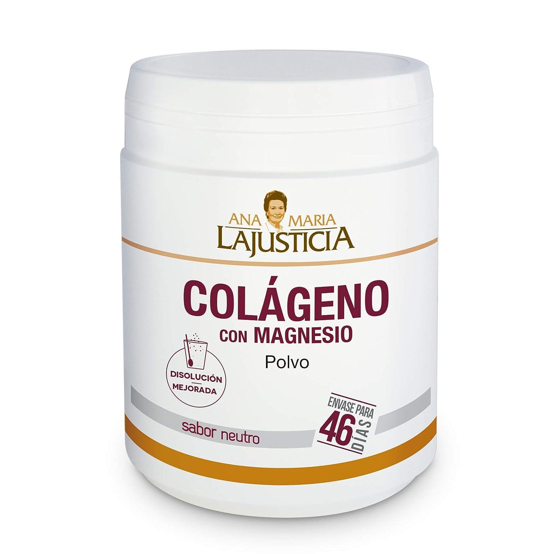 Amazon.com: Ana Maria Lajusticia Colageno con magnesio polvo ...