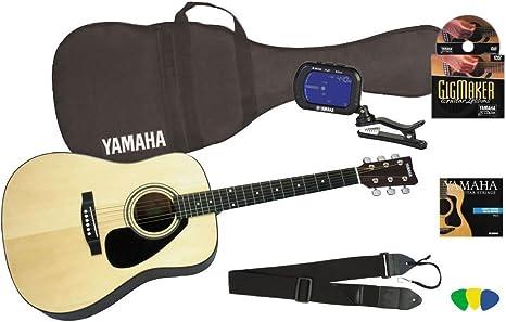 Yamaha Gigmaker estándar de guitarra acústica: Amazon.es ...