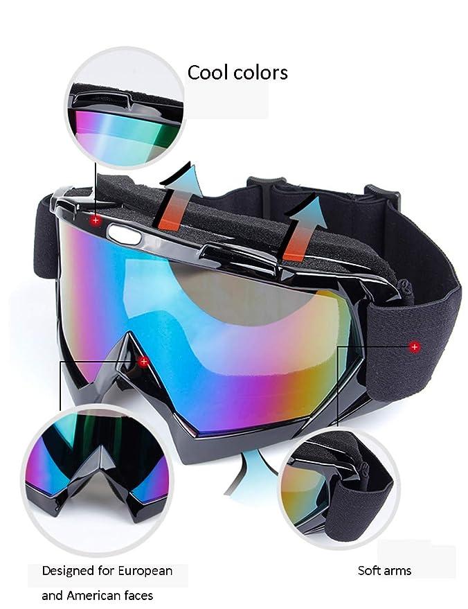 Amazon.com: GEAMBO Gafas de esquí de snowboard para ...