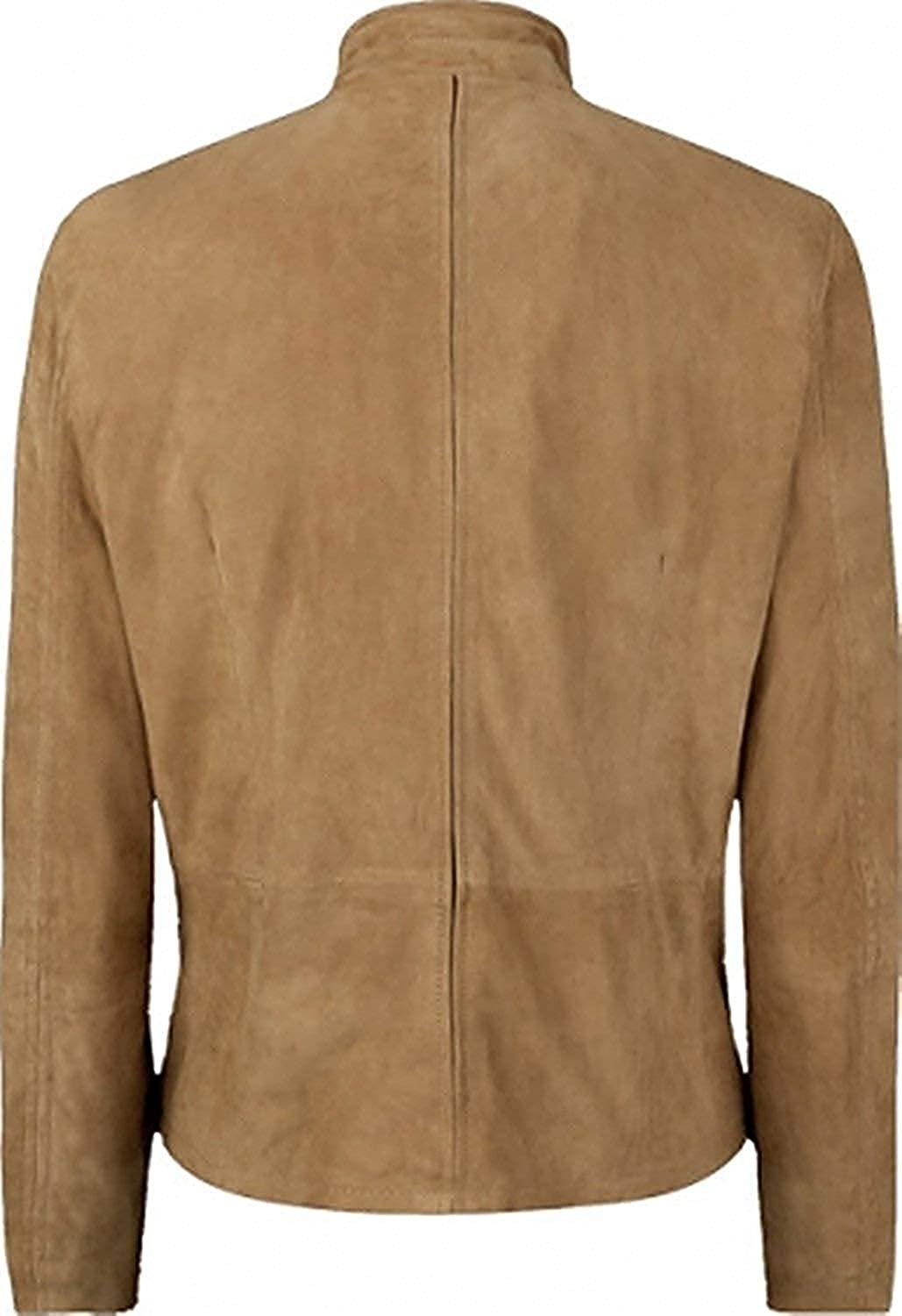 Spectr Jams nd Moroco Daneil Criag Brown Suede Leather Jacket