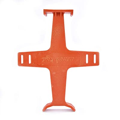 "PRO CAKEN 10-1/2"" Tie Down Brace Motocross Dirt Bike Fork Saver Wheel Support Suspension (Orange): Automotive"