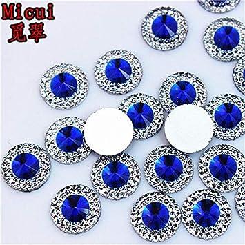 AB Flatback Resin Round Stone Beads Flatback Resin Rhinestone DIY Jewellery,Wedd