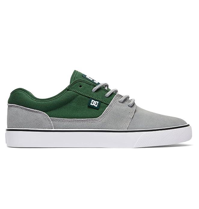 DC Shoes Tonik Sneakers Skateboardschuhe Herren Damen Unisex Erwachsene Grau/Grün