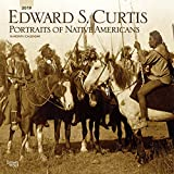 Edward S. Curtis Portraits of Native Americans 2019 12 x 12 Inch Monthly Square Wall Calendar, Photography USA America (Multilingual Edition)