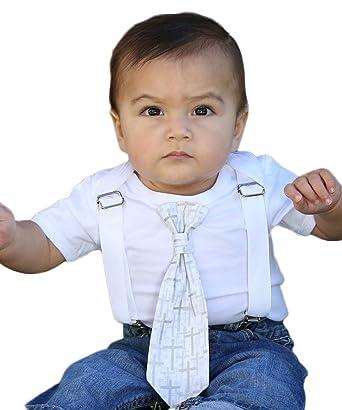 90285f003e90 Amazon.com  Noah s Boytique Baby Boys Baptism Christening Suit ...