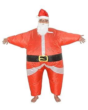 LaoZan Traje de Santa Claus Traje Inflable Carnaval de ...
